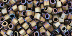 TOHO - Hexagon 8/0 : Matte-Color Iris - Brown