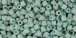 TOHO - Hexagon 11/0 : Opaque-Pastel-Frosted Lt Turquoise