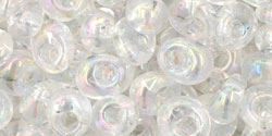 TOHO - Magatama 5mm : Transparent-Rainbow Crystal
