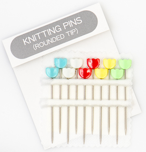 Tulip - Knitting Pins (10 pcs) : Rounded Tip Multi-Colored Tulips