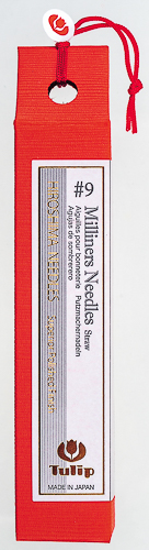 Tulip - Milliners Needles Straw (6 pcs) : #9